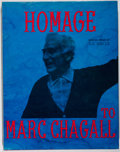 Books:Art & Architecture, [Marc Chagall, subject]. Homage to Marc Chagall. Tudor, [1969]. First American edition. With the original lith...