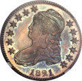 Proof Bust Half Dollars, 1821 50C SP67 ★ NGC. O-103, R.2, R.8 as a Proof. ...