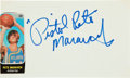 Basketball Collectibles:Photos, Basketball Greats Signed Collection of 90+ With Maravich....