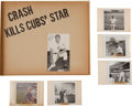 Baseball Collectibles:Photos, Early 1960's Ken Hubbs' Family Album with Signed Photograph....