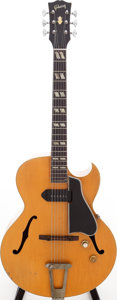 Musical Instruments:Electric Guitars, 1956 Gibson ES-175 Natural Archtop Electric Guitar, Serial #A23313. ...