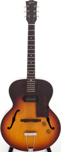 Musical Instruments:Electric Guitars, 1959 Gibson ES-125 Archtop Electric Guitar, Serial # S134419....