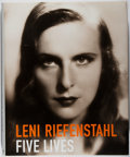 Books:Photography, Leni Riefenstahl. Five Lives. Taschen, [2000]. First American edition. Folio. Spine and corners of book and jack...