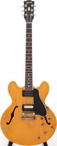 Musical Instruments:Electric Guitars, 1959 Gibson ES-335 Blonde Semi-Hollow Body Electric Guitar, Serial # A31164....