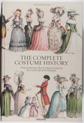 Books:Art & Architecture, August Racinet. The Complete Costume History. Taschen, [2003]. First American edition of this excellent reprint. Fol...