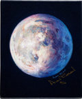 "Explorers:Space Exploration, Alan Bean Signed Limited Edition Giclée Canvas ""A Most BeautifulMoon""...."