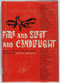 Books:Horror & Supernatural, [August Derleth, editor]. Fire and Sleet and Candlelight.Arkham, 1961. First edition. Ex-library with stamps, stick...