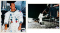 Autographs:Celebrities, Apollo 12 Moonwalkers: Signed Photos....