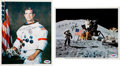 Autographs:Celebrities, Apollo 15 Moonwalkers: Signed Photos. ...