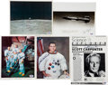 Autographs:Celebrities, Astronaut Signed Photo Collection.... (Total: 5 Items)