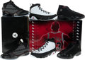 Basketball Collectibles:Others, Michael Jordan Air Jordan Countdown Pack Collezione With Three UDASigned Shoes. ...