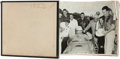 Miscellaneous Collectibles:General, 1953 Indianapolis 500 Photo Album from Official TrackPhotographer....