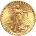 Saint-Gaudens Double Eagles, 1911 $20 MS65 PCGS. CAC....