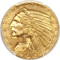 Indian Half Eagles, 1910-S $5 MS62 PCGS. CAC....
