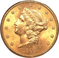 Liberty Double Eagles, 1903-S $20 MS64 PCGS. CAC....
