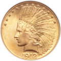 Indian Eagles, 1912 $10 MS64 NGC....