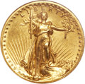 Proof High Relief Double Eagles, 1907 $20 High Relief PR62 NGC....