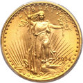 Saint-Gaudens Double Eagles, 1914 $20 MS64+ PCGS....