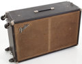 Musical Instruments:Amplifiers, PA, & Effects, Circa 1966 Fender Bassman Black Speaker Cabinet. ...