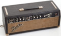 Musical Instruments:Amplifiers, PA, & Effects, 1966 Fender Bassman Black Guitar Amplifier Head, Serial #A22618....