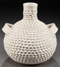 American Indian Art:Pottery, TWO ACOMA POTTERY VESSELS. J. B. Ray and J. H. Shutiva. ... (Total:2 Items)