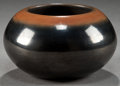 American Indian Art:Pottery, A SAN ILDEFONSO BLACKWARE JAR. Tse-Pe and Dora Gonzales...