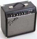 Musical Instruments:Amplifiers, PA, & Effects, 2004 Fender Frontman 15G Black Electric guitar Amplifier, Serial #IA04C01372....