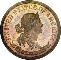 1870 50C Standard Silver Half Dollar, Judd-954, Pollock-1097, High R.7, PR64+ Red and Brown PCGS Secure. CAC....(PCGS# 7...