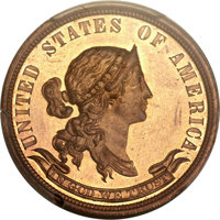 1870 25C Standard Silver Quarter Dollar, Judd-897, Pollock-1004, High R.7, PR64 Red and Brown PCGS Secure. CAC....(PCGS#...