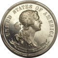Patterns, 1870 25C Judd-923, Pollock-1028, High R.7, PR65 Cameo PCGS Secure.CAC....
