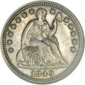 Patterns, 1849 P3CS Three Cent Silver, Judd-112 Original, Pollock-126, LowR.7, PR64 NGC....
