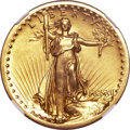 Proof High Relief Double Eagles, 1907 $20 High Relief PR66 NGC....
