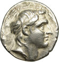Ancients:Greek, Ancients: Seleukid Kingdom. Demetrios I Soter. 162-150 B.C. ARtetradrachm (27 mm, 16.65 g). Antioch, S.E. 162 (151/0 B.C.).Diademed ...