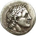 Ancients:Greek, Ancients: Ptolemaic Kingdom. Ptolemy II Philadelphos. 285-246 B.C.AR tetradrachm (26 mm, 14.21 g). Uncertain mint in Phoenicia.Diade...