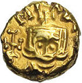 Ancients:Byzantine, Ancients: Michael II, with Theophilus. A.D. 820-829. AV solidus (12mm, 3.50 g). Syracuse, A.D. 821-829. Crowned facing bust ofMichae...