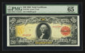 Large Size:Gold Certificates, Fr. 1180 $20 1905 Gold Certificate PMG Gem Uncirculated 65 EPQ.....