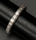 Estate Jewelry:Necklaces, Diamond & Gold Eternity Ring. ...