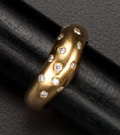Estate Jewelry:Rings, 18k Gold & Diamond Ring. ...
