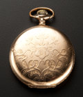 Timepieces:Pocket (post 1900), Elgin 15 Jewel 12 Size Pocket Watch. ...
