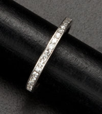 Antique Platinum Eternity Ring