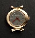 Timepieces:Pocket (post 1900), Accutron 14k Gold Wristwatch. ...