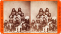 Photographs, APACHE SCOUTS, STEREOVIEW BY HENRY BUEHMAN, TUCSON, A.T....