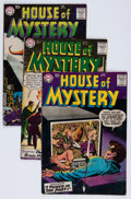 Silver Age (1956-1969):Horror, House of Mystery Group (DC, 1958-61) Condition: Average VG....(Total: 10 Comic Books)