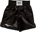 Boxing Collectibles:Autographs, Mike Tyson Signed Trunks....