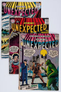 Silver Age (1956-1969):Horror, Tales of the Unexpected Group (DC, 1957-58) Condition: AverageGD/VG.... (Total: 4 Comic Books)