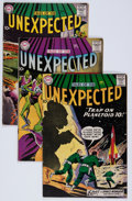 Silver Age (1956-1969):Horror, Tales of the Unexpected #41-43 Group (DC, 1959) Condition: AverageVG-.... (Total: 3 Comic Books)