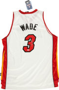 Basketball Collectibles:Uniforms, Dwyane Wade Signed Miami Heat Jersey. ...