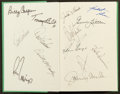 Autographs:Others, 1996 The U.S. Open Signed Book With 30. ...