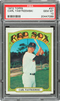 Baseball Cards:Singles (1970-Now), 1972 Topps Carl Yastrzemski #37 PSA Gem Mint 10 - The Best! ...