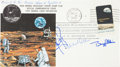 Explorers:Space Exploration, Apollo 11 Flown Crew-Signed Commemorative Cover Originally from thePersonal Collection of Mission Command Module Pilot Michae...